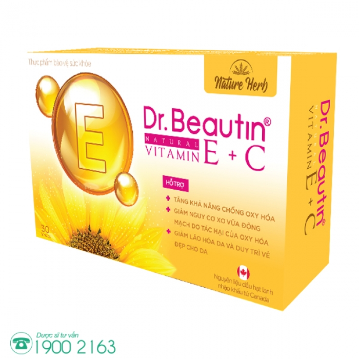 DR. BEAUTIN NATURAL VITAMIN E + C